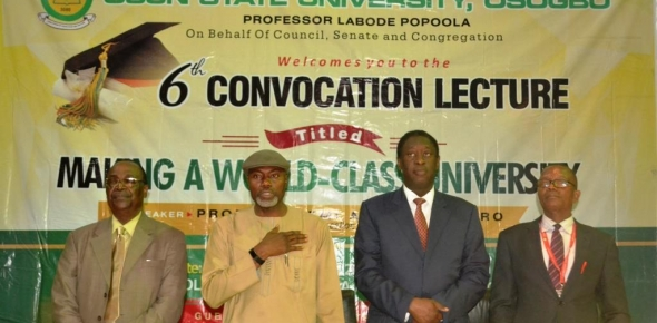 6TH CONVOCATION LECTURE