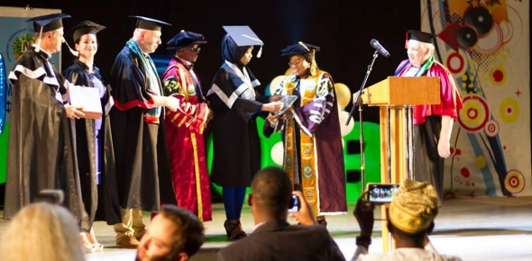 OVATION AS UKRAINE UNIVERSITY DECLARES UNIOSUN STUDENT OVERALL BEST MEDICAL GRADUATE